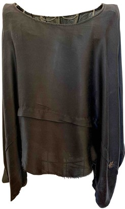 Pierre Balmain Black Silk Top for Women