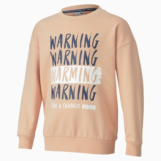 Puma Time 4 Change Kids' Crewneck Sweatshirt