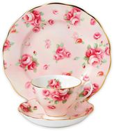 Royal Albert 100 Years 1980 Rose Blush 3-Piece Place Setting