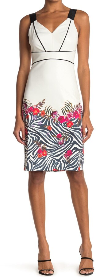 Ted Baker Samba Printed Bodycon Dress