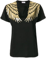 RED Valentino wing print T-shirt - women - Cotton/Polyamide - M