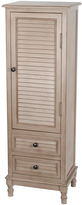 Privilege French Gray Shuttered One-Door Chest