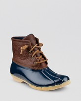 Sperry Waterproof Cold Weather Lace Up Boots - Saltwater