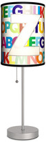 Lamp-In-A-Box Letter Z Monogram Lamp