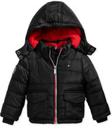 Tommy Hilfiger Randy Hooded Puffer Jacket, Baby Boys (0-24 months)