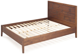 Hewson Distressed Solid Wood Queen Bed Frame