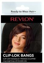 Revlon Ready to Wear Hair Clip-Lok Bangs
