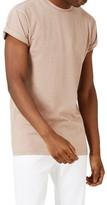Topman Men's Roller Sleeve T-Shirt