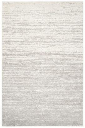 Safavieh Adirondack Collection ADR113 Rug, Ivory/Silver, 7' Round