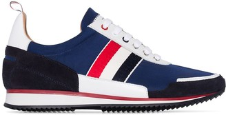Thom Browne tri-stripe low-top runner sneakers