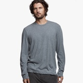 James Perse Cotton Linen Melange Crew Tee