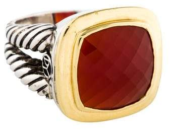David Yurman Carnelian Albion Ring