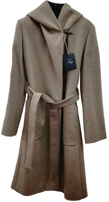 Fay Camel Cashmere Coat for Women