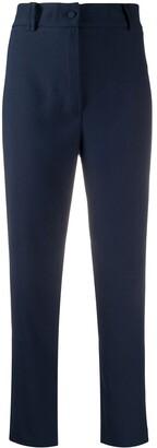 Hebe Studio Loop plain cropped trousers