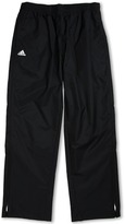 adidas Kids - Climaproof Rain Provisional Pant (Big Kids) (Black/White) - Apparel