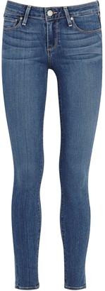 Paige Verdugo Transcend Blue Skinny Jeans