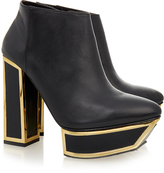 Kat Maconie Peggy Black Nappa Ankle Boot