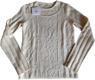 Hermes Ecru Wool Knitwear for Women