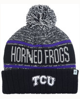 Top of the World TCU Horned Frogs Acid Rain Pom Knit Hat
