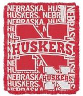 "NCAA Nebraska Jacquard Throw - Multi-Colored (48""x60"")"