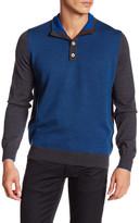 Thomas Dean Raglan Wool Sweater