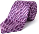 Paul Costelloe James Micro Geo Silk Tie