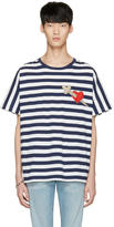 Gucci Navy Heart and Arrow T-Shirt