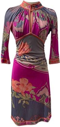 Leonard Pink Silk Dresses