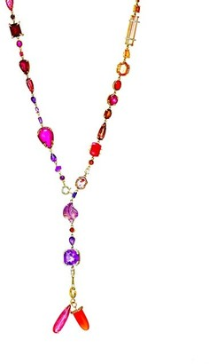 Sharon Khazzam Baby 18K Gold, Multicolor Diamond & Multi-Stone Necklace