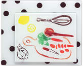 Kate Spade all in good taste Set of 2 Deco Dot Food Prep Boards