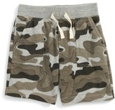 Boy's Peek Stephen Camo Shorts