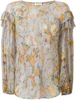 Zimmermann floral print blouse
