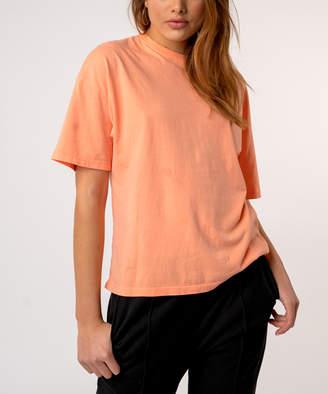 Kuwalla|Tee Women's Tee Shirts Orange - Orange Oversize Tee - Women