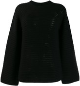 Theory ribbed knit jumper
