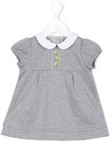Familiar peter pan collar dress - kids - Cotton - 6 mth
