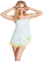 Betsey Johnson Destination Wedding Chiffon Short Set