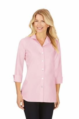 Foxcroft Women's Pandora 3/4 Sleeve Non Iron Tunic