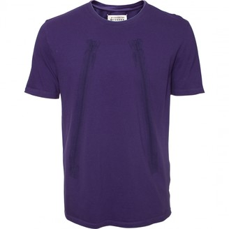 Maison Margiela Purple Cotton T-shirts