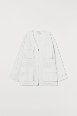 H&M Twill shirt jacket