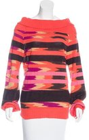 Missoni Patterned Cashmere & Silk-Blend Sweater