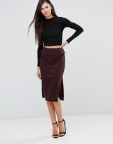 Finders Keepers Be Still Midi Skirt