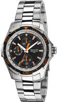 Accurist Men's Quartz Watch with Dial Analogue Display and Silver Stainless Steel Bracelet 5033988027856