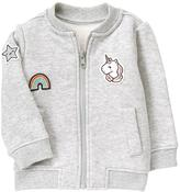 Gymboree Patch Bomber Jacket