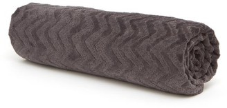 Missoni Home Rex Zig Zag-jacquard Cotton-terry Bath Sheet - Dark Grey