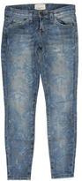 Current/Elliott Floral Skinny Jeans