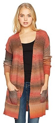 Angie Women's Open Cardigan with Pockets