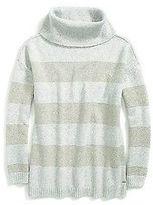 Tommy Hilfiger Women's Rugby Stripe Marled Sweater