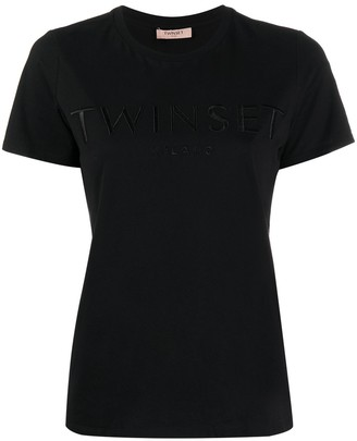 Twin-Set logo-embroidered T-shirt
