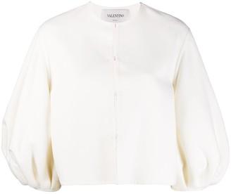 Valentino Full-Sleeve Cropped Jacket