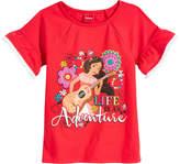 Disney Disney's Princess Elena of Avalor Ruffle-Sleeve T-Shirt, Little Girls